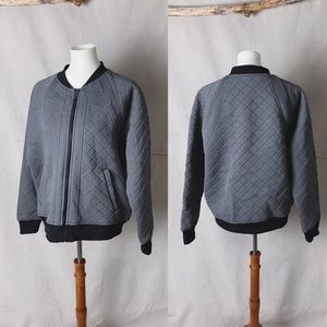 ATHLETA Infusion Quilted Bomber Jacket XL